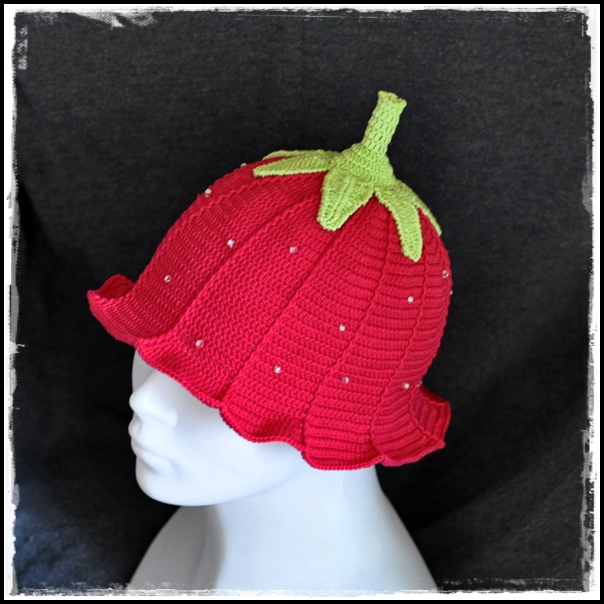 "Cap "" Strawberry """
