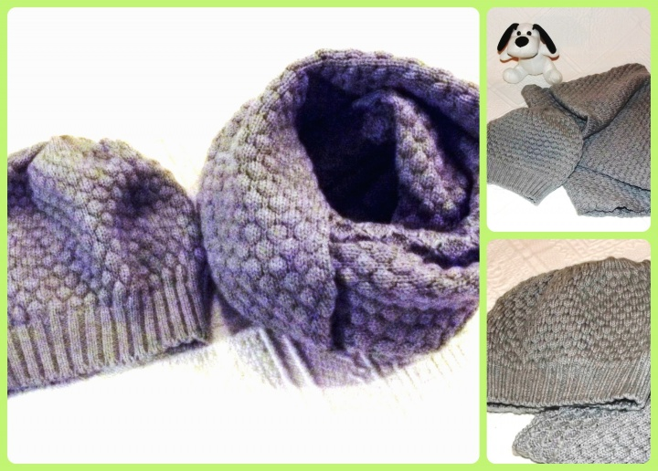 Cap and infinity scarf - Children Set