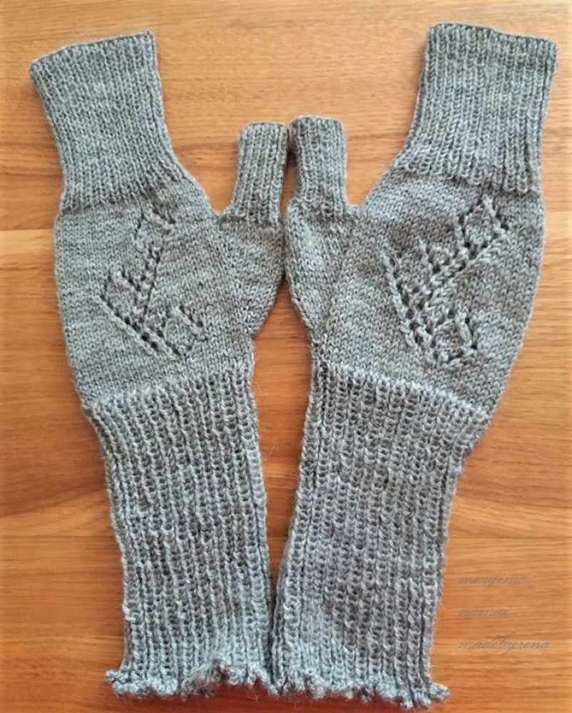 "Fingerless arm warmers ""almost gloves "" picture no. 3"