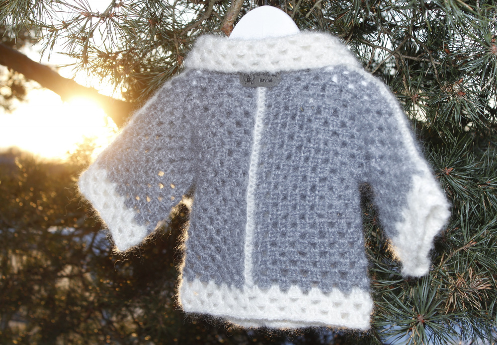 Crochet baby cardigan picture no. 2