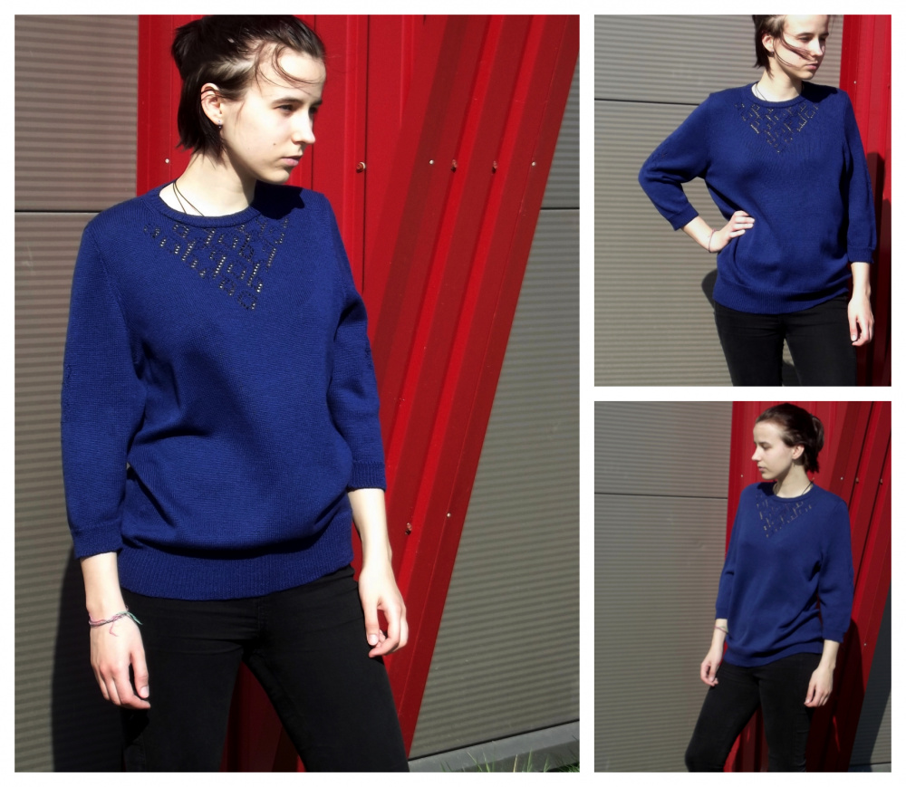 "Tunic ""Royal Blue"" picture no. 3"