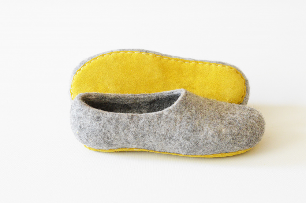 Felted house shoes