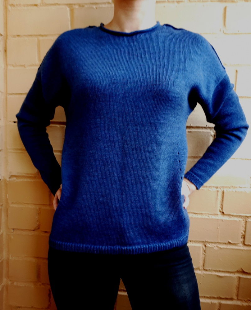 "Sweater tunic ""Blue dream"""