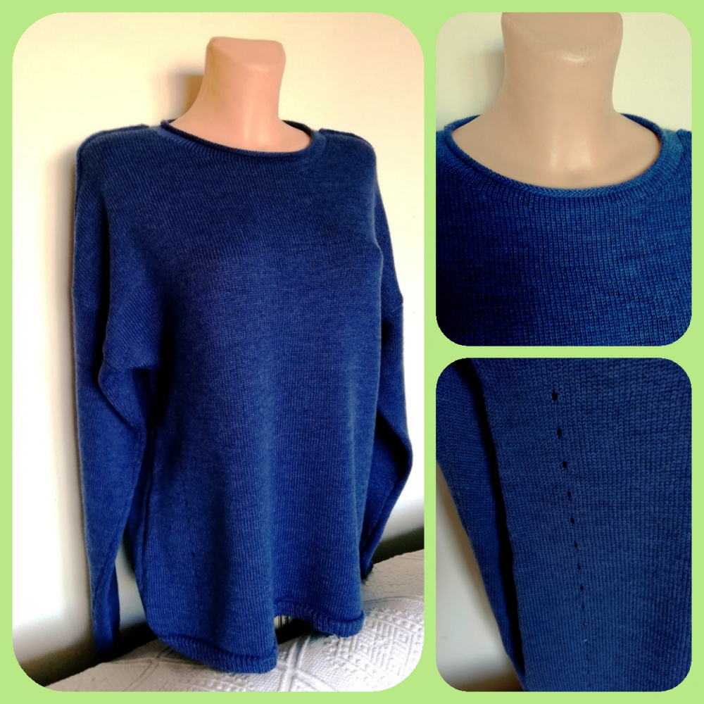 "Sweater tunic ""Blue dream"" picture no. 2"