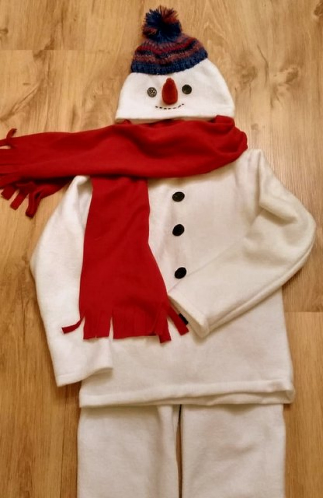 Snowman Carnival Costume for kids picture no. 2