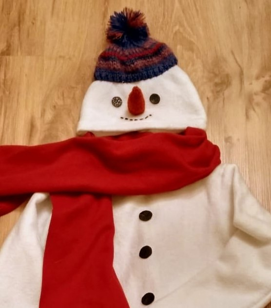 Snowman Carnival Costume for kids