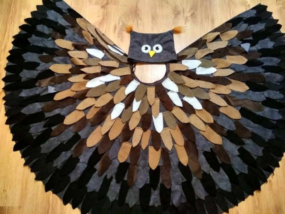 "Owl Carnival Costume ""Mom Owl"" picture no. 2"
