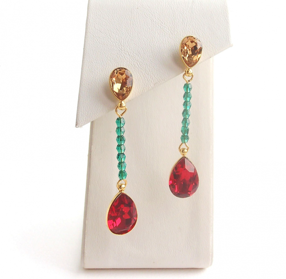 "Earring ""Lithuanian"" picture no. 2"