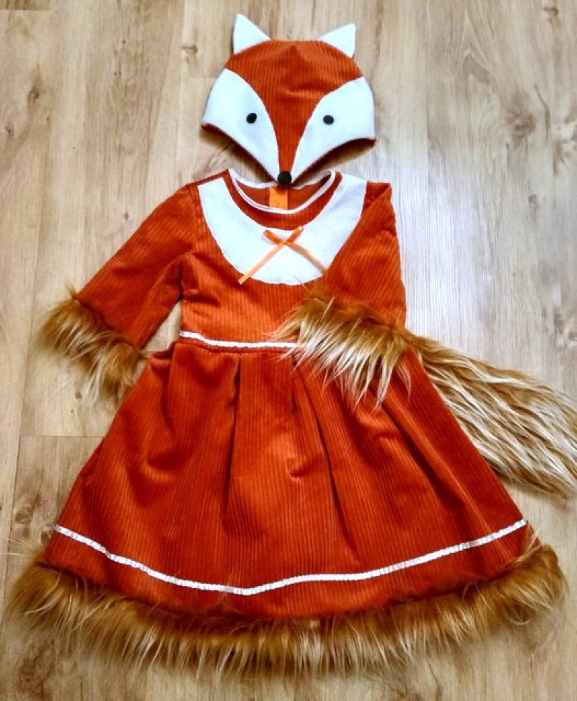 Fox Carnival Costume for the Girl
