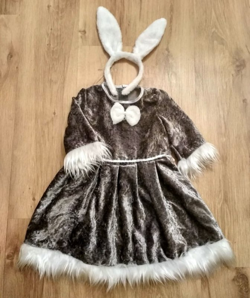 Bunny carnival costume for girl