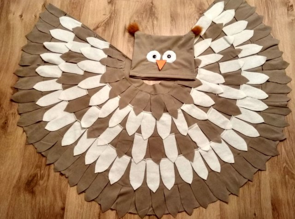 Owl carnival costume for kids picture no. 2