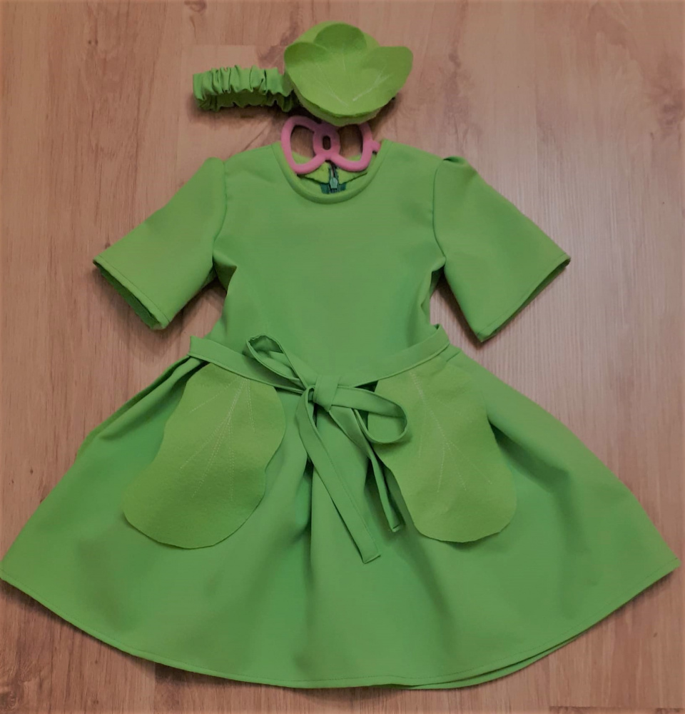 Cabbage Carnival Costume for Girl
