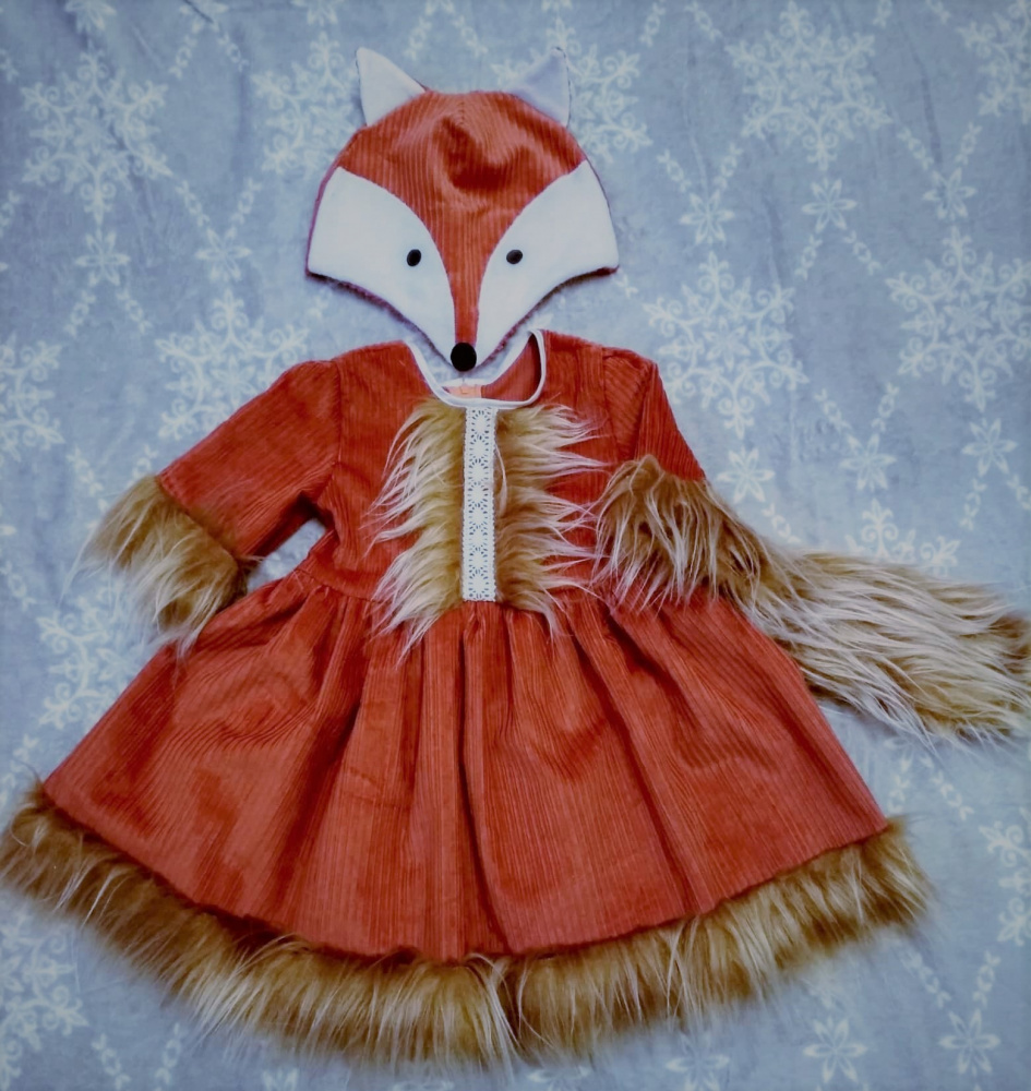 Fox Carnival Costume for Girl