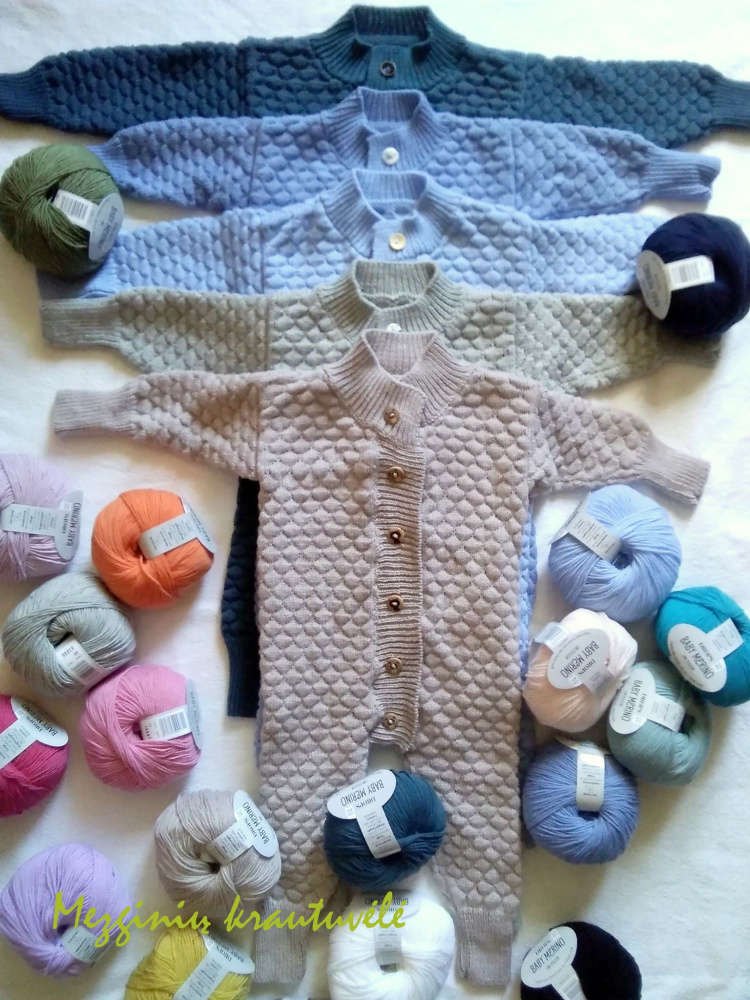 Combenizone for children under 1 Drops Baby Merino thread picture no. 3