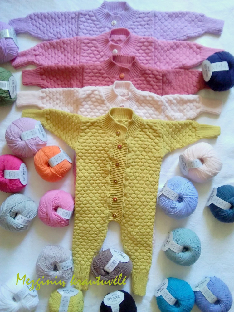 Combenizone for children under 1 Drops Baby Merino thread picture no. 2