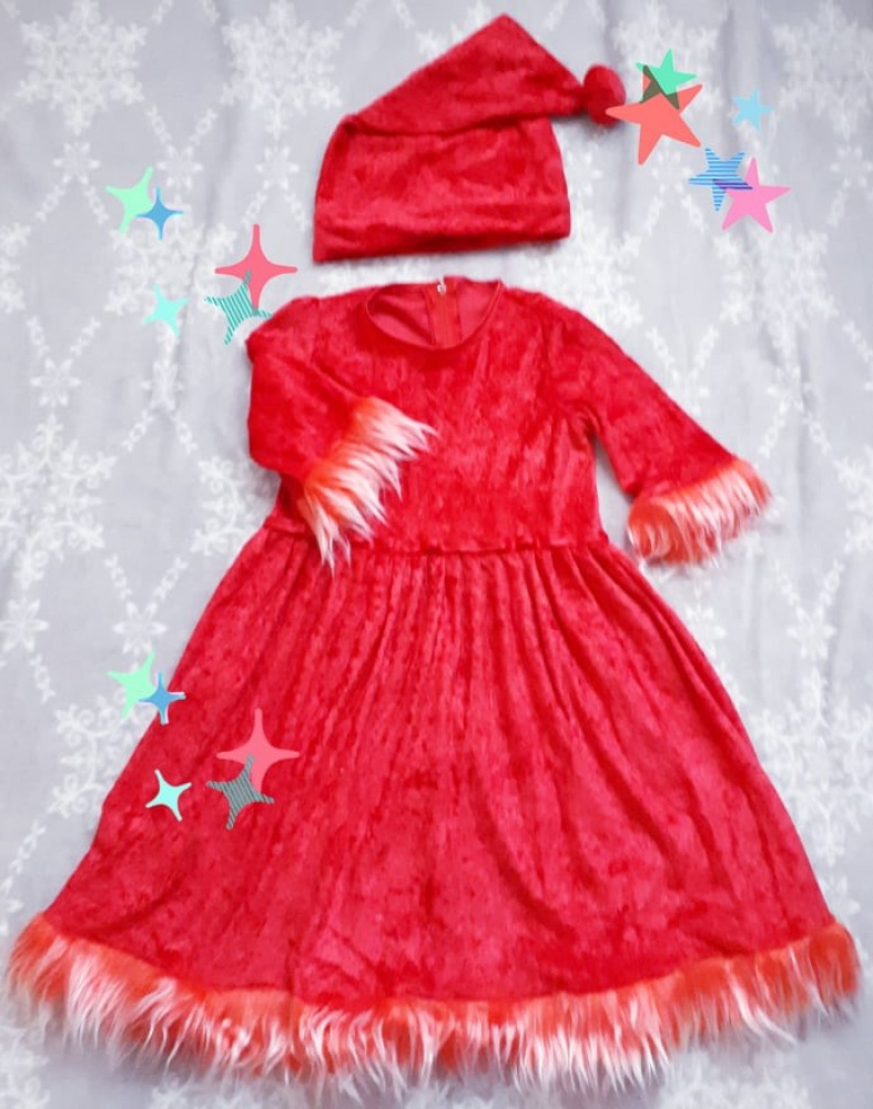 Dwarf carnival costume for a girl