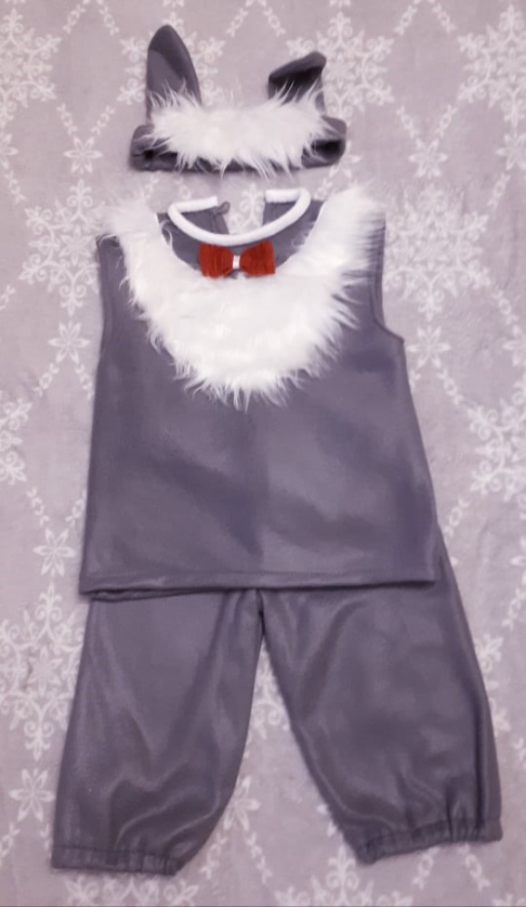 Rabbit, bunny carnival costume for kids