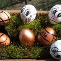 Perna made as a :))) - Easter eggs - making