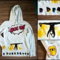 breakdance - Drawing on clothes - drawing