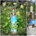 Dreams ... - Decorated bottles - making