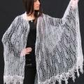 White country - Wraps & cloaks - knitwork