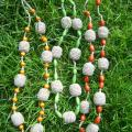 "Necklaces "" Berry Skewers "" - Necklace - needlework"