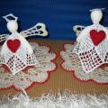 Angels Love Her + Him - Lace - needlework