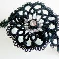 Black-eyed - Bracelets - needlework