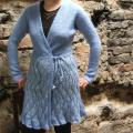 Blue sweater - Sweaters & jackets - knitwork