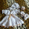 Baptism kit - Baptism clothes - needlework