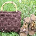 Knitted handbag - Handbags & wallets - knitwork