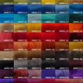 20.5 micron merino tops painted - Wool & felting accessories - felting