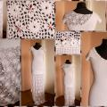 White bridal dress - Dresses - needlework