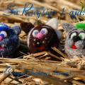 Funny katinukas - Pendants - felting