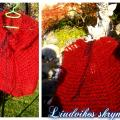 Claret - Wraps & cloaks - knitwork