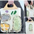 "Felted Bag "" mottled "" - Handbags & wallets - felting"