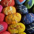 Soaps sponges - For interior - felting