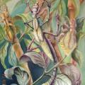 Phasmatodea 40x60 - Oil painting - drawing