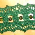 Green - Bracelets - needlework