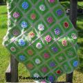 "Pledukas baby "" Flower sea "" - Plaids & blankets - needlework"