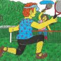 "Tennis "" Papyvesio "" valley - Pictures - drawing"