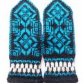 Patterned gloves - Gloves & mittens - knitwork