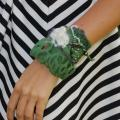 Different-green - Bracelets - felting
