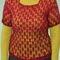 Blouse crocheted - Blouses & jackets - knitwork