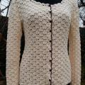 Crocheted Chanel style jacket - Sweaters & jackets - needlework
