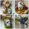 Easter - For interior - felting