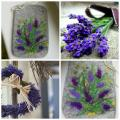 Lavender Morning - Handbags & wallets - felting