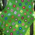 "Pledukas "" nursery flowers "" - Plaids & blankets - needlework"