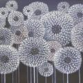 Powder puffs 85x38 - Oil painting - drawing