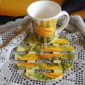 Mug and coaster - Decoupage - making